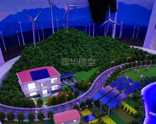 南京沙盘公司|南京羲和能源动态演示沙盘模型-南京模型公司制作