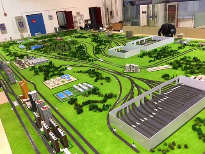 南京沙盘公司|轨道交通沙盘模型