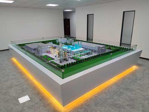 南京沙盘公司|常州和润环保厂区模型