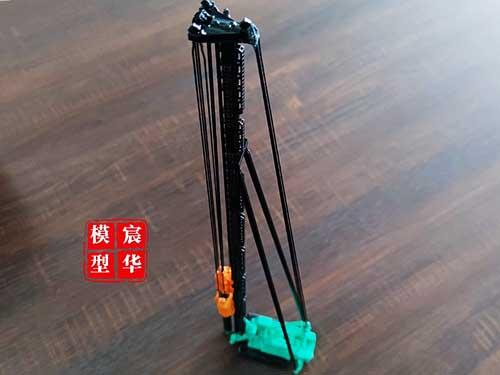 履带式打桩机模型制作 挖掘机模型订制 工程车辆礼品模型订制